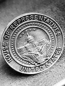 Vintage-1960s-House-of-Representatives-ONE-cufflink-ONE-ONLY