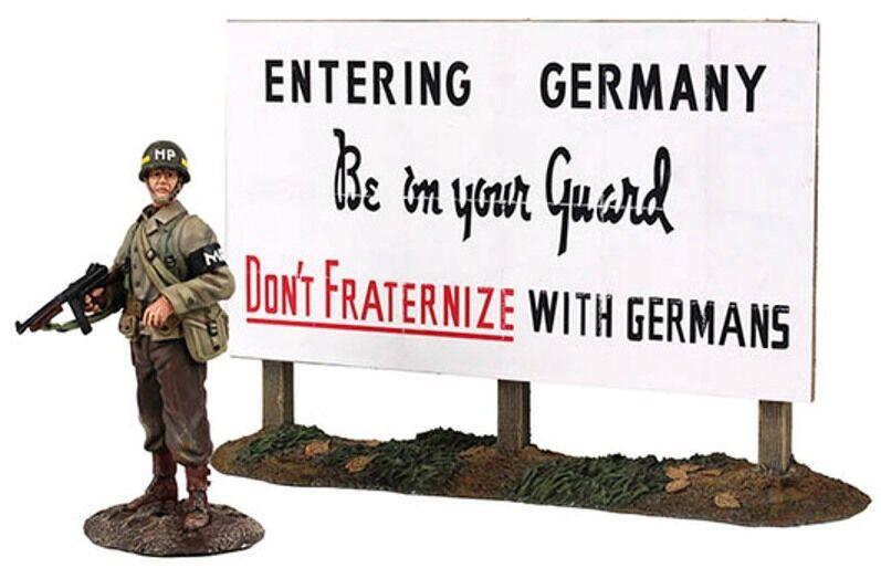 Britains Weltkrieg 2 Verbündete 25033 U.S.Militär Polizist stehend Schutz MIB  | Verkauf Online-Shop