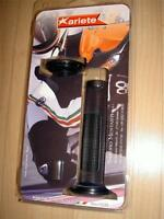 Street Bike Black Softer Slim 4.75 Long Handlebar Grips 01651/ss Made In Italy