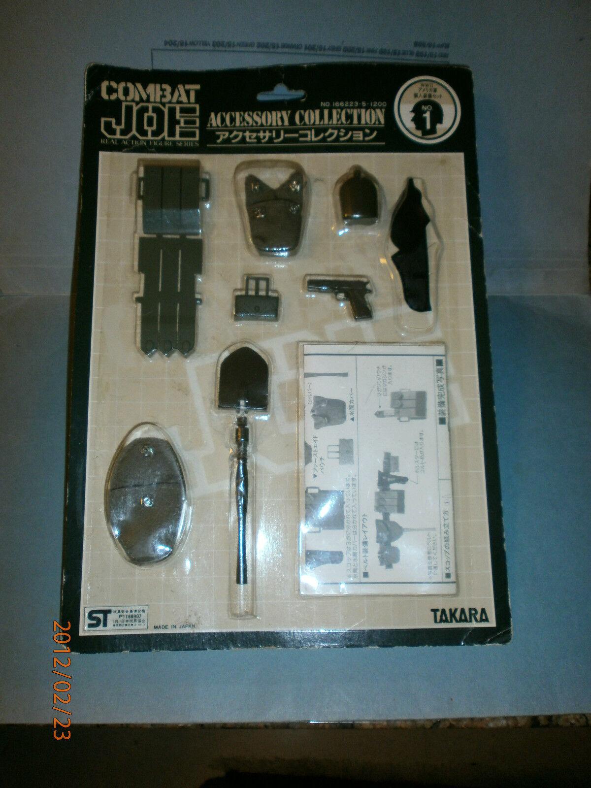 TAKARA combattere Joe Joe Joe SECONDA GUERRA MONDIALE ACCESSORIO CARD noi n. 1 8a8f85