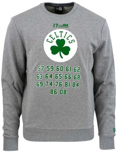 New Era-NBA Boston Celtics équipe Champion Sweat-Shirt-Gris