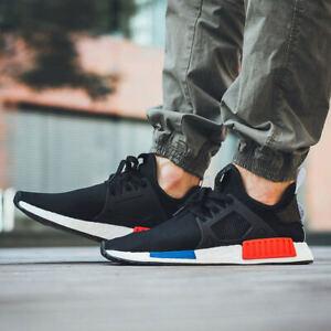 Para Hombre Adidas NMD XR1 PK Primeknit og Boost Negro Azul Rojo ...