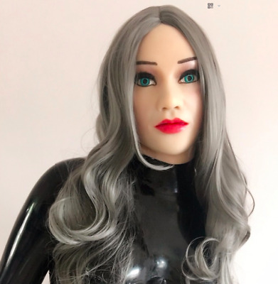 Latex doll mask
