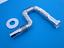 ABFLUSSIPHON SIFON DEHNBAR MIT DICHTUNG+ROSETTE 1″1//4*32 CHROM ABFLUSSGARNITUR