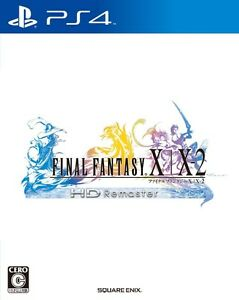 Details about PS4 Final Fantasy X / X-2 HD Remaster Japan Import  PlayStation 4 With Tracking