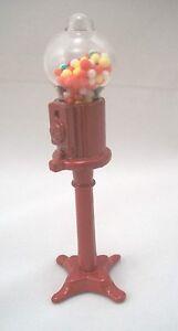 Gumball-Machine-dollhouse-miniature-1-12-034-scale-D3624-amp-IM66030-metal-amp-glass