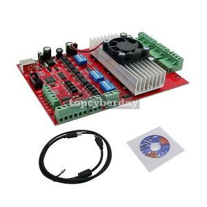 Details about MACH3 CNC 3 Axis Stepper Motor Driver Board TB6560 USB Port +  USB cable