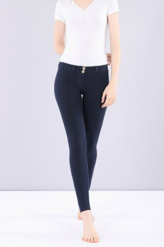 Freddy WR.UP® Shaping Effect Low Rise Women Pants Skinny Fit Stretch Cotton Blue