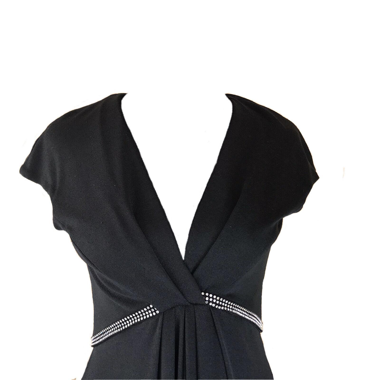 Vintage Luis Estevez Dress Eva Gabor Look Label B… - image 2