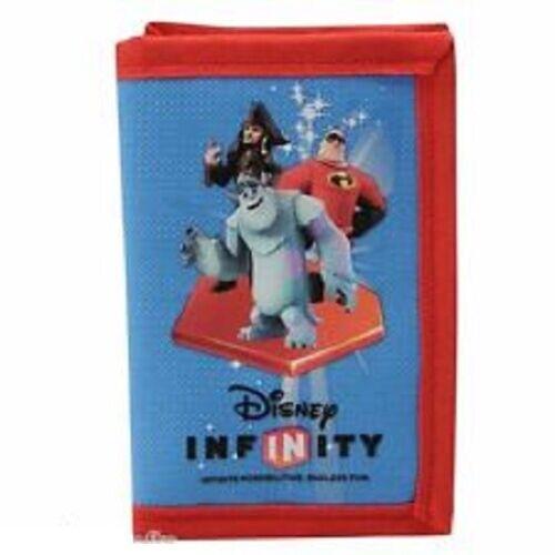Disney Infinity Wallet NEW Blue Captain Jack Sparrow Mr Incredible Sulley