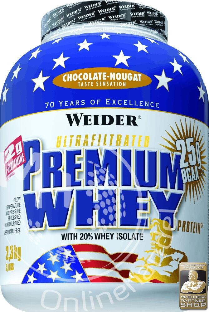 Weider premium whey lata de 2,3kg ( kg) projoeína BCAA projoeínas Shake
