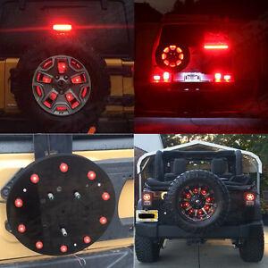 Spare Tire Led Lamp Wheel Rear 3rd Brake Decoration Light