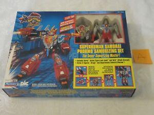 Playmates Dic Superhuman Samurai Groupe de Syber Phormo Samurizing Set 94 Gridman A
