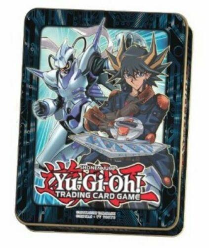 YGO Tin Mega Dose 5D Box Yu-Gi-Oh Mega Tin 2018 Yusei Deutsch Yu-Gi-Oh