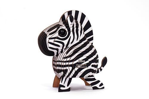 Dodoland 3DPuzzle Eugy Zebra Puzzles & Geduldspiele