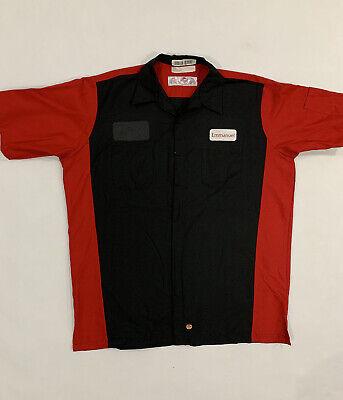 Red Kap Automotive Mechanic Technician Short Sleeve Work Shirts 2XL #B07