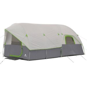 Family Camping Tent 10 Person Dome Tunnel 16 x 9 Outdoor ...