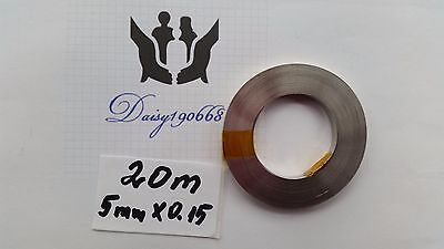 20M 5mm x 0.15mm Pure Ni plate Nickel strip tape for battery welding