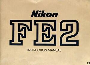 Nikon Manual de instrucciones para Nikon FE
