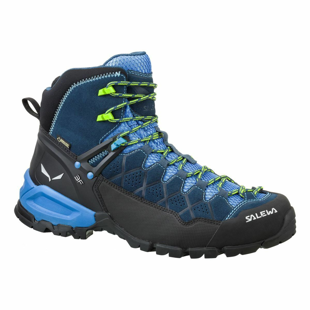 Salewa Gore-Tex Alp Trainer Mid Gore-Tex Salewa Denim Mens Hiking Stiefel 03e2fb