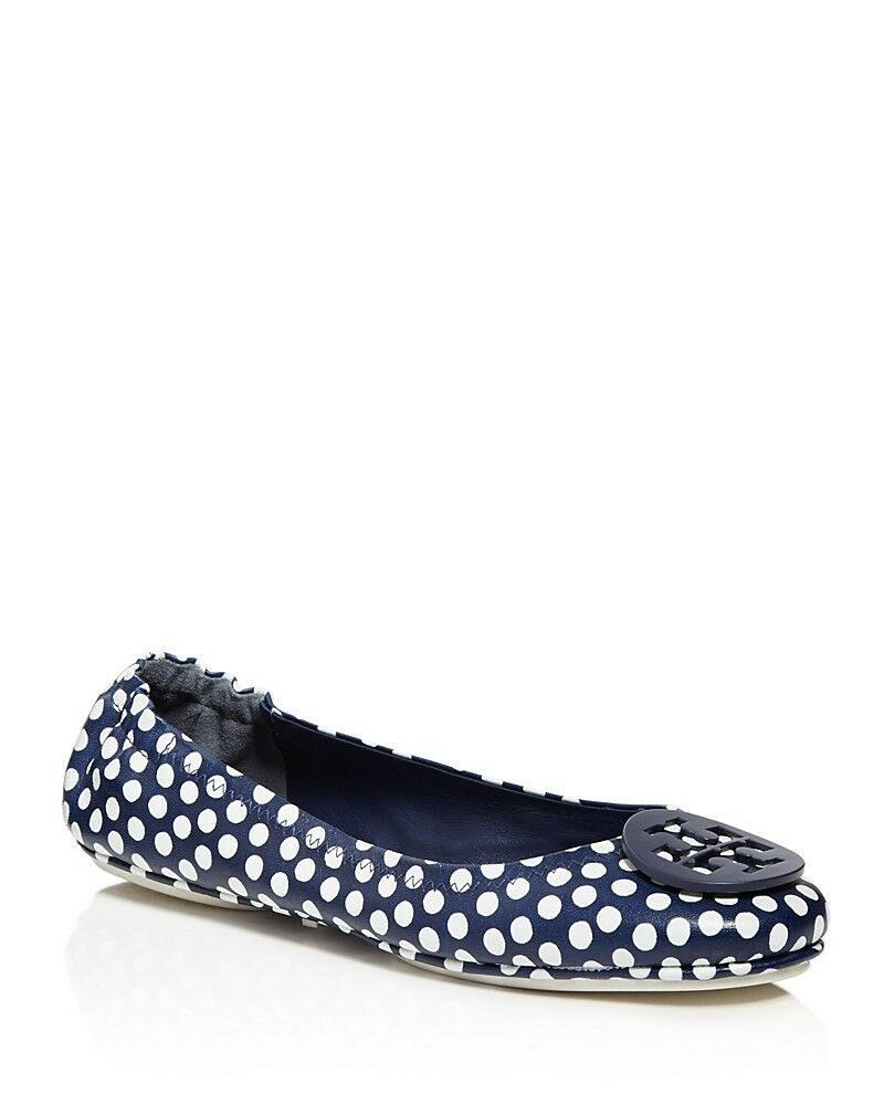 Tory Burch Minnie Polka Dot Travel Ballet Flats Size 6.5