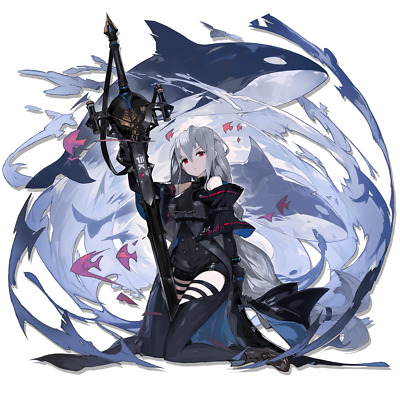 "Arknights Nightingale Elite 2 Anime Waifu Sticker 6/"" Decal E2"
