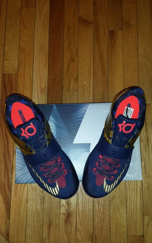 Nike KD 7 VII oro material tamaño.14 material oro 9443af