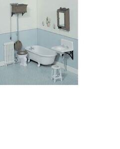 Dollhouse-Miniatures-1-12-Scale-Victorian-Bathroom-Kit-CB2111