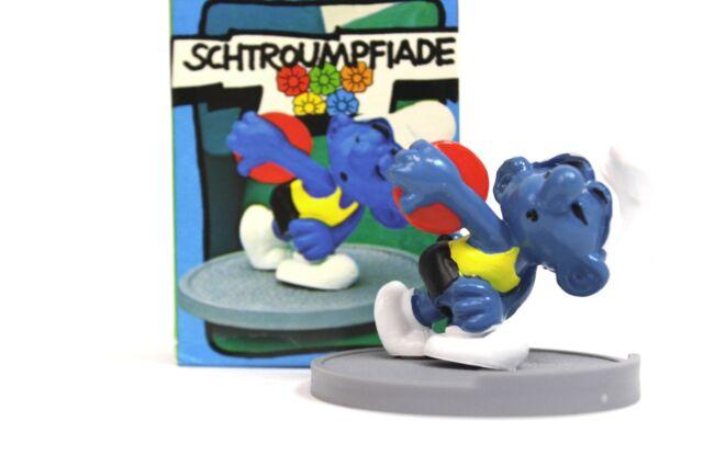 Diskuswerfer Schlumpf SUPERSCHLUMPF 40503 in OVP Schlümpfe Smurfs Schleich