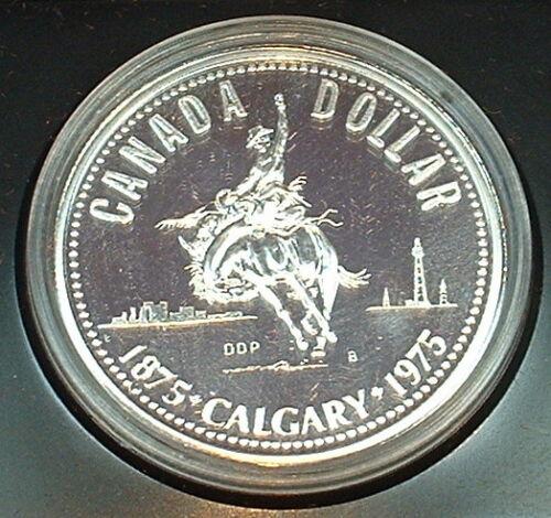 CANADA  1975  ******  SPECIMEN  SILVER DOLLAR   ******