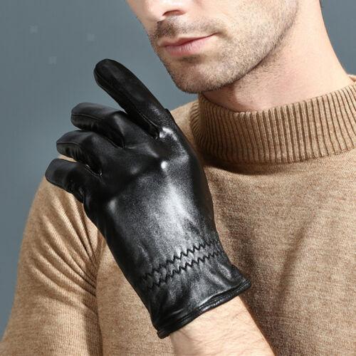 Klassische Lederhandschuhe Touchscreen Handschuhe Winterhandschuhe Outdoor