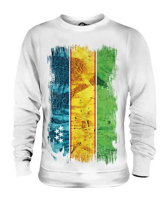 KARAKALPAKSTAN GRUNGE FLAG UNISEX SWEATER TOP FOOTBALL GIFT SHIRT CLOTHING  | Überlegene Qualität