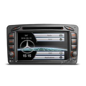 AUTORADIO-7-034-Mercedes-Classe-C-Clk-Viano-Vito-Navigatore-Gps-Dvd-Usb-Sd-Canbus
