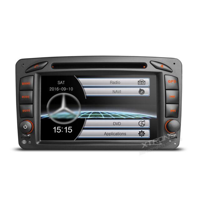 "AUTORADIO 7"" Mercedes Classe C Clk Viano Vito Navigatore Gps Dvd Usb Sd Canbus"