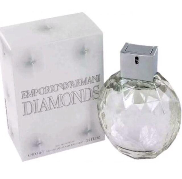 EMPORIO ARMANI DIAMONDS 100ml EDP Spray Women's Perfume (100% Genuine)