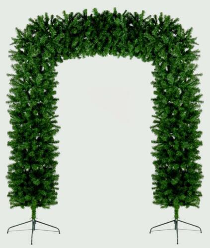 Premier Christmas Indoor Outdoor Tree Arch Green 240cm2.4m8ft FREE P&P
