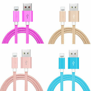 3ft-6ft-10ft-Usb-Cord-Cable-Charger-Iphone-6s-7-8-Sync-X-Xs-Lightning-Data-Cable