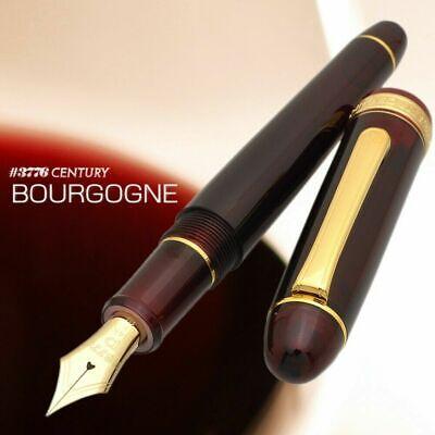 F PNB-13000-71 Plumín Nueva Estilográfica Platinum Century #71 Bourgogne