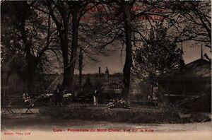CPA-Lure-Promenade-du-Mont-Chatel-Vue-sur-la-Ville-636405