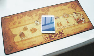 90*40cm One piece world map Grand Line big Thick computer laptop ...