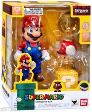 S.H. Figuarts Super Mario Super Mario Bros Action Figure IN STOCK US Seller