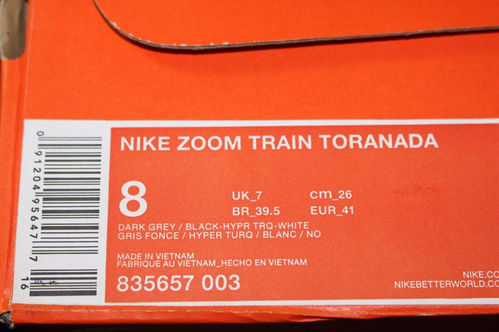 Nike männer zoom - zug toranada männer Nike größe 8,0 neue, seltene authentische hyper - türkis 7160b8