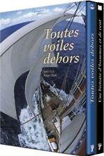 """COFFRET DVD + LIVRE """"TOUTES VOILES DEHORS / UNE HISTOIRE D'HOMMES ET DE VENT"""""""