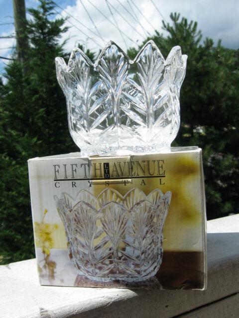 Crystal Portico Bowl 5 Fifth Avenue Crystal 301518 Gb Ebay