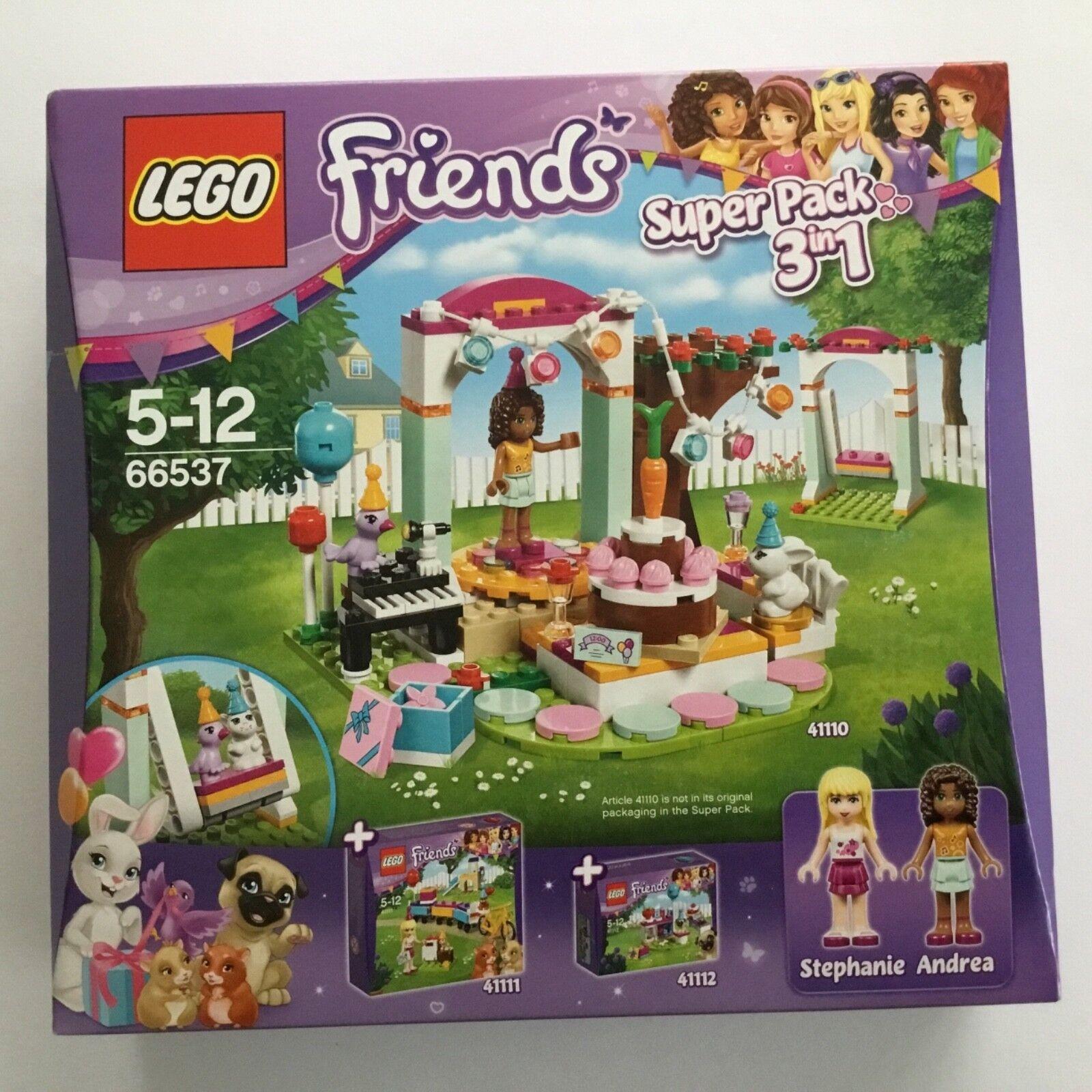 Fête D'anniversaire 66537 3 Friends 1 In Superpack Lego 41110 XTwilPuOkZ