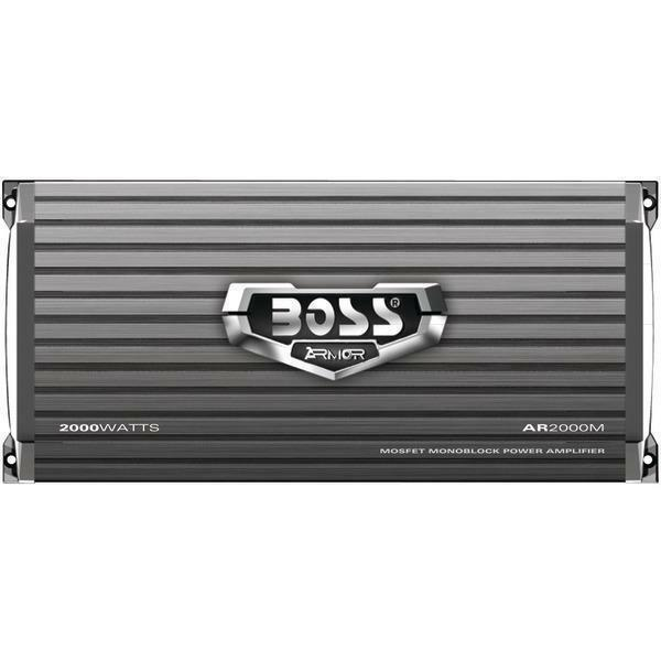 Boss Armor 2000W Monoblock A//B Amplifier Car Audio Amp Bass Remote 2 Pack