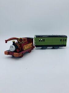 Trackmaster Thomas Friends Train Tank Engine Harvey & Motorized Coach