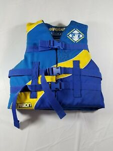 Body Glove Youth Life Jacket 50-90# Blue and Yellow   eBay