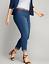New-Lane-Bryant-65-Super-Stretch-Denim-Crop-Medium-Wash-Capri-Jeans-Plus-Size thumbnail 1