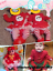 My-First-Christmas-Infant-Baby-Girl-Santa-Romper-Sequined-Tutu-Dress-Outfit-Set thumbnail 3